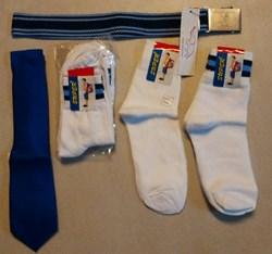 BGHS SOCKS SET OF 5 - SIZE 6, TIE AND BELT - CLASS 6, 7